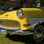 Opel Olympia Rekord im Duotone-Look