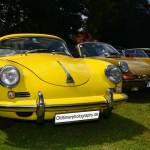 Porsche 356 in gelb