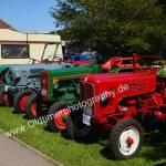 Traktoren aller Marken beim Oldtimertreffen Obereisenbach