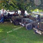 Vorarlberger Jeep Oldie Club mit Willys MB in Obereisenbach