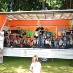 unplaqued prochecked Band im SchloßgartenWolfegg