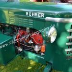 Bührer Traktor mit Opel-Logo...