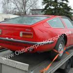 Maserati Indy Heckansicht / rear view