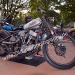 Indian Motorrad auf dem Podest bei der Kressbronn Classics