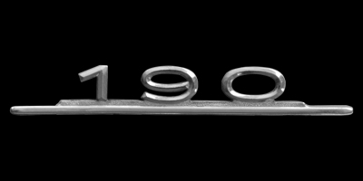 Logo Mercedes-Benz 190 (W 110)