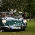 Porsche 356 bei der Einfahrt zur 6. Kressbronn Classics