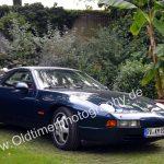 Porsche 928 bei der Einfahrt ins Strandbad Kressbronn