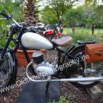 Zündapp Motorrad bei Kressbronn Classics