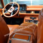 Maserati Quattroporte III Interieur mit Blick auf die Armaturentafel