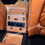 Maserati Quattroporte III im Fondbreich mit extra Aschenbecher und separater Frischlufteinstellung im Fondbereich