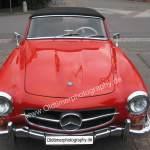Mercedes-Benz 190 SL Frontansicht
