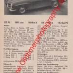 Mercedes-Benz 190 SL technische Daten 1956