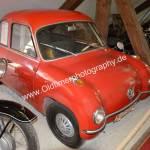 Schako-Mobil von 1957 Einzelstück der Firma Schako aus Meßkirch, die es heute noch gibt.