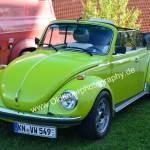 VW Käfer 1303 LS (1972-1975) mit artgerchter Lackierung bzw. Farbe in Zeiten des Pop-Stils..