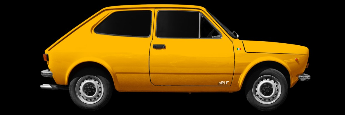 Fiat 127 Poster new created by aRi F..