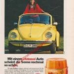 1972, Johnson Autopfllege mit VW Käfer 1303 Cabriolet
