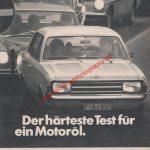 ARAL Super Elastic. Lang lebe Ihr Motor. Reklame in Auto Motor & Sport 1973