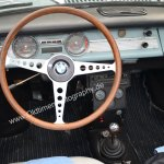 BMW 700 Interieur, Baujahr 1964