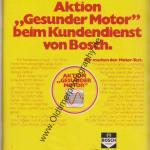 Bosch Dienst Werbung ams Heft 11, 25. Mai 1974