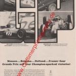 Champion Zündkerzen Advertising Werbung 60er Jahre