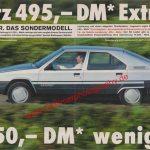Citroen BX Leader ams 1/1986