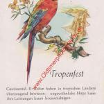 Continental Reifen Tropenfest - Continental Werbung aus 1955