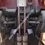 Jaguar E-Type Serie 3 Unterboden Doppelauspuffanlage
