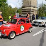 Fiat 500 bei der 6. Bodenses Auto BILD Klassik zur Wertungsprüfung