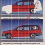 Dunlop Ganzjahresreifen in mot Nr. 14, 23. Juni 1989