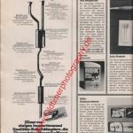 Ebersbächer Schalldämpfer ams Heft 11, 25. Mai 1974