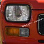 Fiat 127 Frontscheinwerfer und Blinker-Anordnung bei Serie 1 und 2