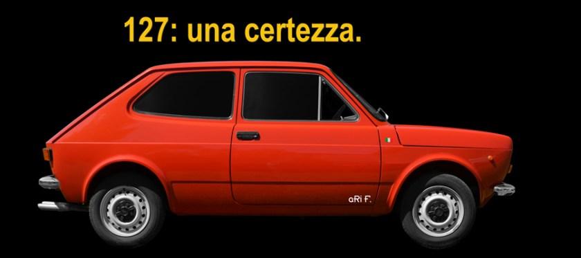 Fiat 127 Poster & Art Cars by aRi F.
