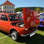 Fiat 127 mit nach vorne zu öffnender Motorhaube