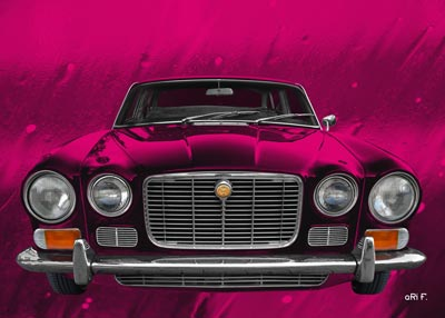 Jaguar XJ Series 1 Poster by aRi F.