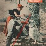 Lambretta Roller ADAC Motorwelt Mai 1956