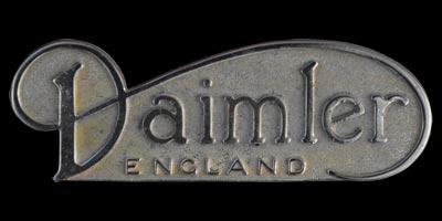 Logo Daimler SP250 (1959-1964)
