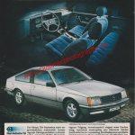 Opel Monza 2.5 E Energiebewußt. Dynamisch Reklame Werbung 1980
