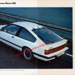 Opel Monza Werbung Ohne Vorbild Der neue Monza GSE in ams 19/1983