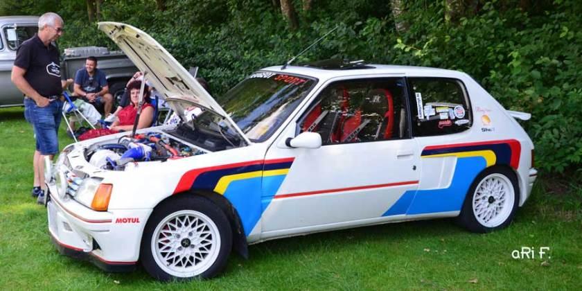 Peugeot 205 im Rallye-Look