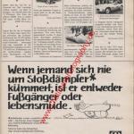 Sachs Stoßdämpfer ams Heft 11, 25. Mai 1974
