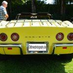 Chevrolet Corvette C3 Convertible mit 4 Rundleuchten und geteilter Stoßstange bis 1974