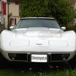 Chevrolet Corvette C3 T-Top in classic white (1978-1982)