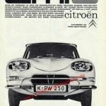 Citroen Ami 6 publicité Werbung Advertising 60er Jahre
