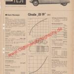 Citroen ID Test in Motor Rundschau Oktober 1959 Seite 321