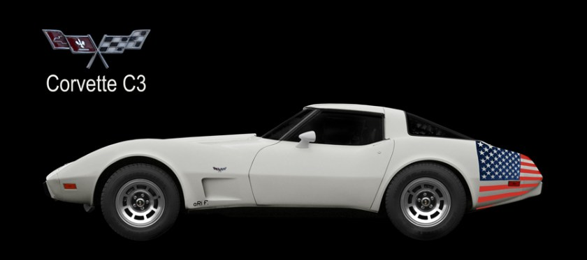 Corvette C3 Poster photographed by aRi F.