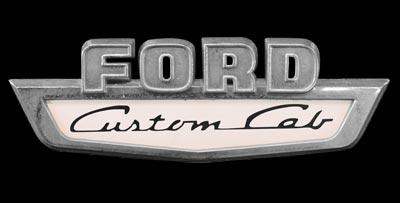 Logo Ford Custom Cab F-100