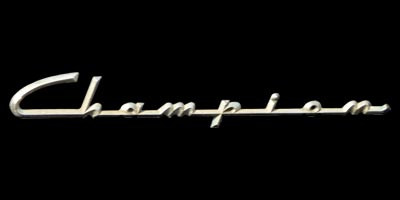 Logo Studebaker Champion