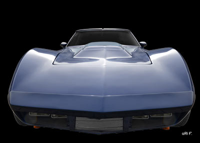 Corvette C3 Poster in original color