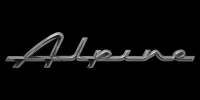 Logo Sunbeam Alpine Serie V