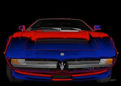 Poster Maserati Merak SS